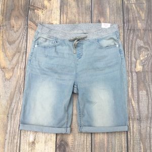 NWT Justice Girls Bermuda Shorts Size 22